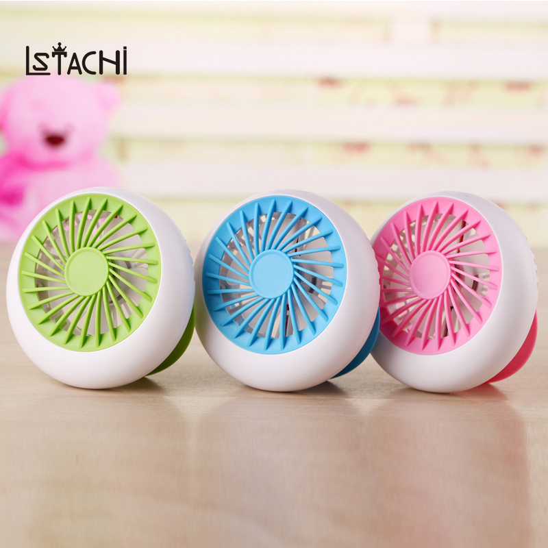 LSTACHi Mini Fan Rechargeable Fan Office USB electric air conditioner USB Portable Desk small fan battery natural wind 1200mA handheld cartoon mini fan usb portable fan for home outdoor desk rechargeable air conditioner with 1200ma rechargeable battery