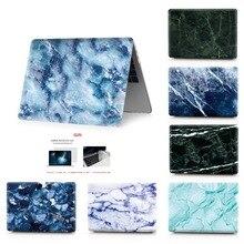 Étui pour ordinateur portable en marbre pour Apple MacBook Air 11,13 Pro Retina 12 13 15 tablette tactile pour macbook nouveau Pro 13.3 15.4 nouveau Air 13.3