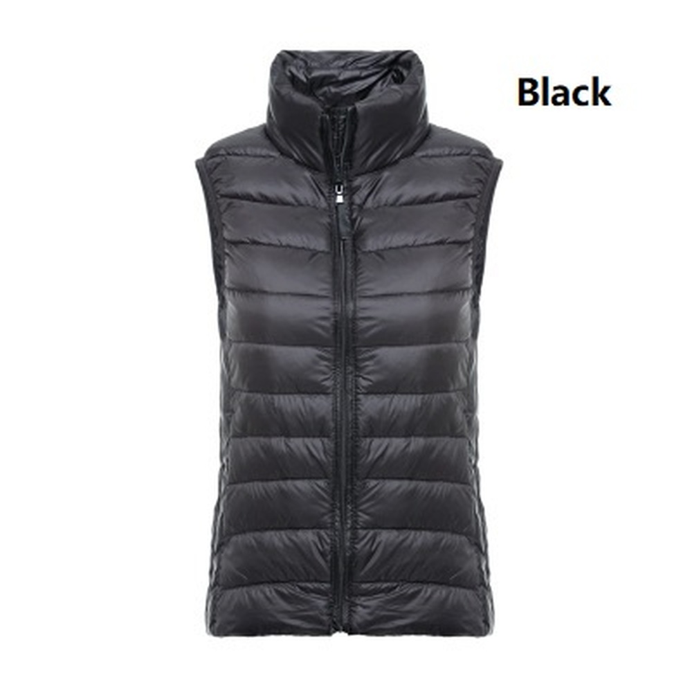 ZOGAA Women Winter Coat Sleeveless Vest Slim Solid Lady Down Jacket Vest Tank Top Warm Clothes Casual Women   Parka   Vest 2019