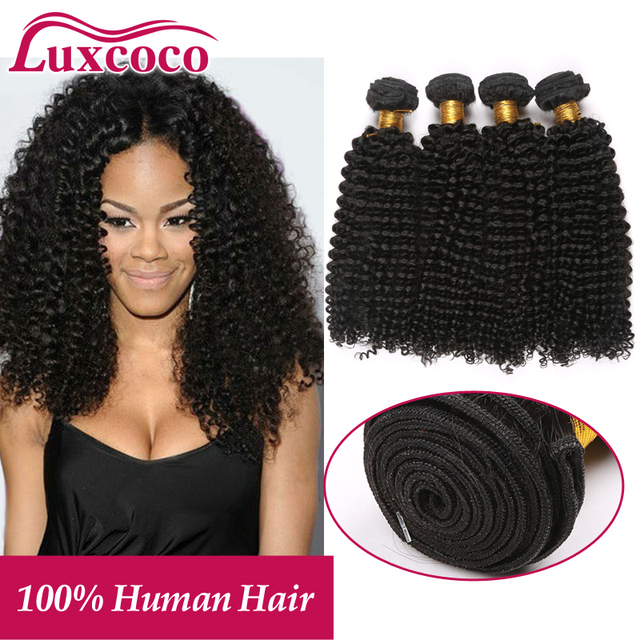 Charming Cambodian Kinky Curly Hair With Bouncy Cruls 4pcslot Kinky