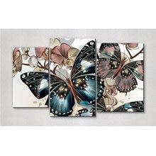 Mooncresin 3d Алмазная картина вышивка крестиком бабочка Панси