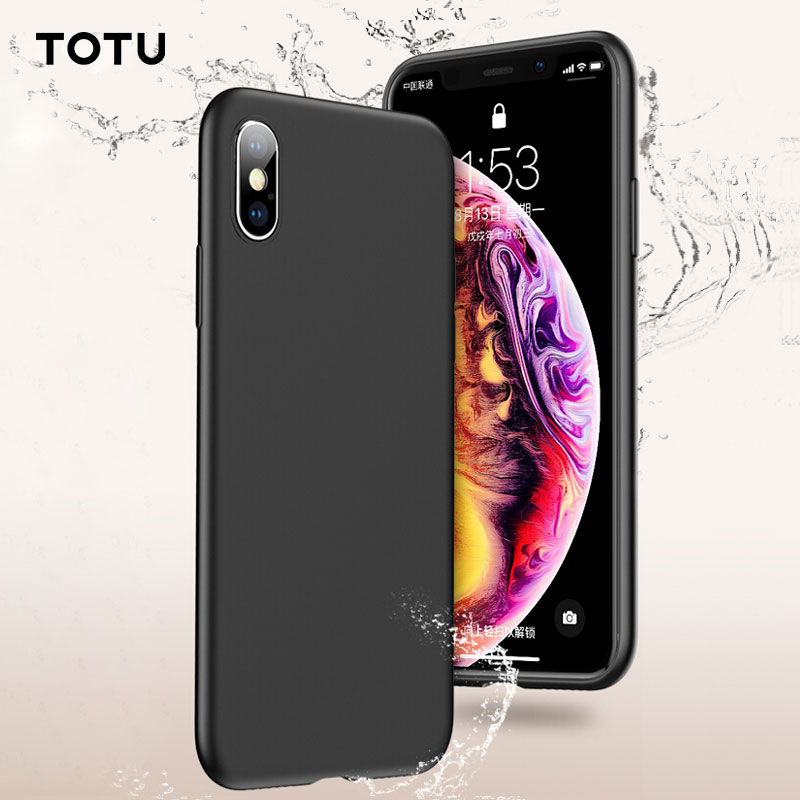 TOTU Liquid Silicone Case For iPhone XR iPhone Xs Max Gel