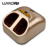Foot massager Machines Vibrating Feet Care Massage Device.Infrared Heat Therapy Body Relax Blood Circulation Warm Feet Massager