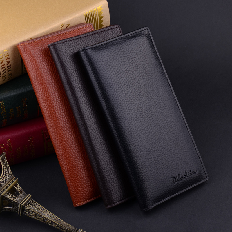 2017 Herren Brieftaschen Marke Pu-leder Männer Brieftaschen Für Kreditkarten Halter Schwarz Mode Geldbörse Feste Lange Standard Brieftaschen Kupplung Entlastung Von Hitze Und Sonnenstich