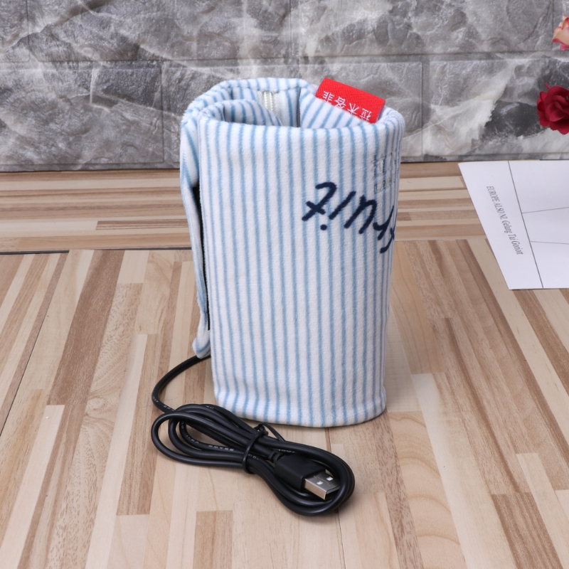USB Milk Water Warmer Insulated Bag Baby Nursing Bottle Bag Heat Freshness Preserved Feeding Bottle Tote Bag for Travel Stroller in Insulation Bags from Mother Kids