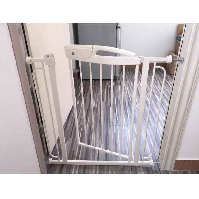Venta caliente del cabrito del Niño Seguridad Puerta Puerta de Protección del bebé de Seguridad Para El Hogar 74*81 cm