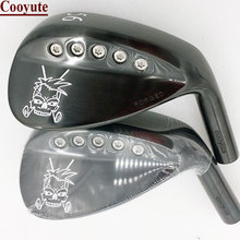NEW Golf heads Cooyute FORGED Skull black wedge and 52.56.58 degree Clubs No shaft Free shipping