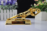 The Best Goalkeeper Trophy Cup Metal Trophy Football Soccer Souvenirs For Soccer Match Award Nice Gift