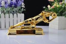 Лучший вратарь трофей Смолаы трофей Футбол Футбол сувениры для награждения футбольный матч хороший подарок для друга Бесплатная доставка