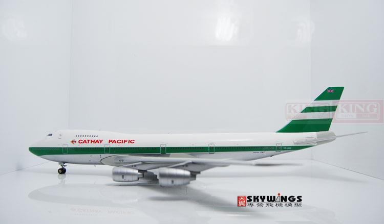 XX2857 JC Hongkong Wings Cathay Pacific VR-HKG O/C 1:200 B747-200 commercial jetliners plane model hobby