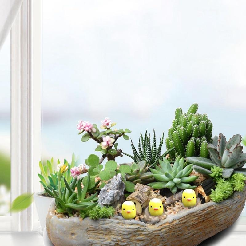 5pcs Micro Landscape Chicken Kawaii Cabochons Resin Craft Miniature