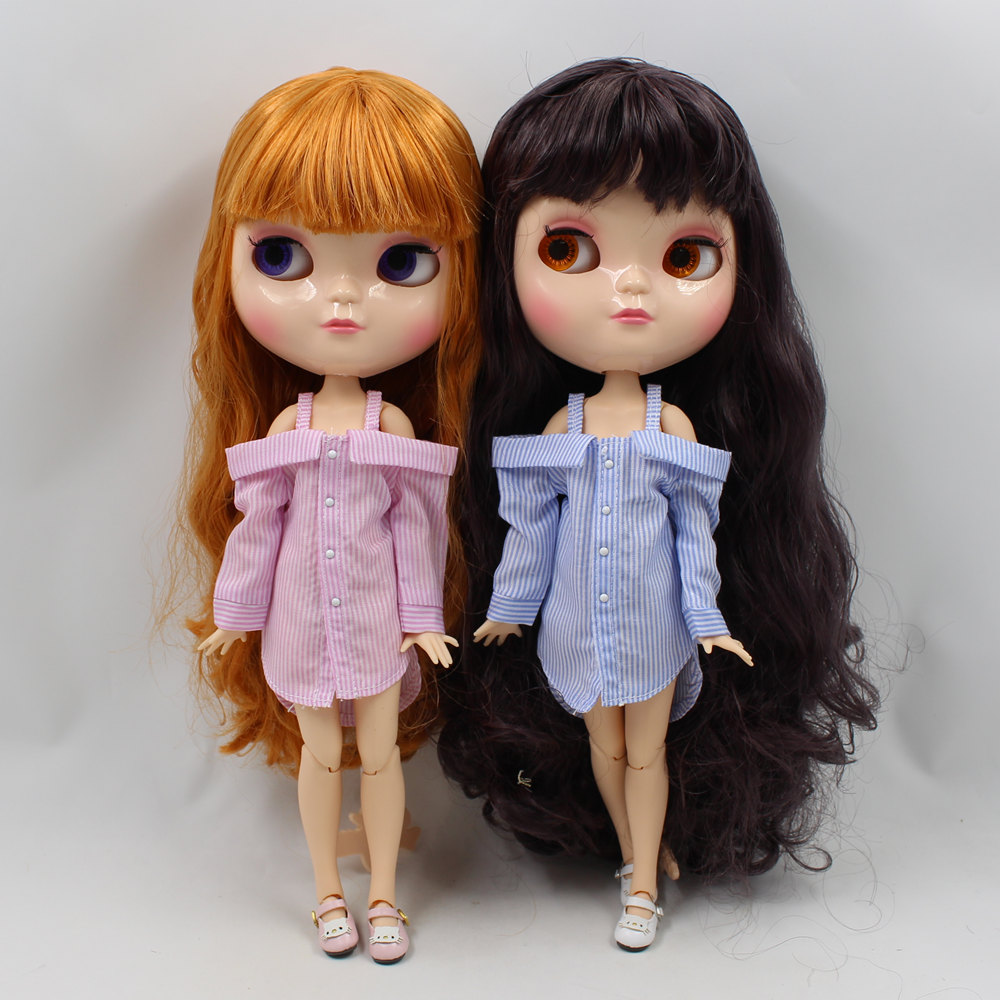 Fortune Days ICY Doll 16 Clothes Casual fashion youth three color skirt for Neo blyth icy doll 30cm toys