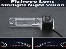1080P Fisheye Lens Trajectory Tracks Car Rear view Camera For Volkswagen Magotan Polo New Bora Golf Passat CC Touran Sagitar цена и фото