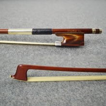 High Performance Concerto Pernambuco Wood Material VIOLIN BOW! SWEET and MELLOW Tone, Unbleached Mogolia Horse Hair Oxhorn Frog
