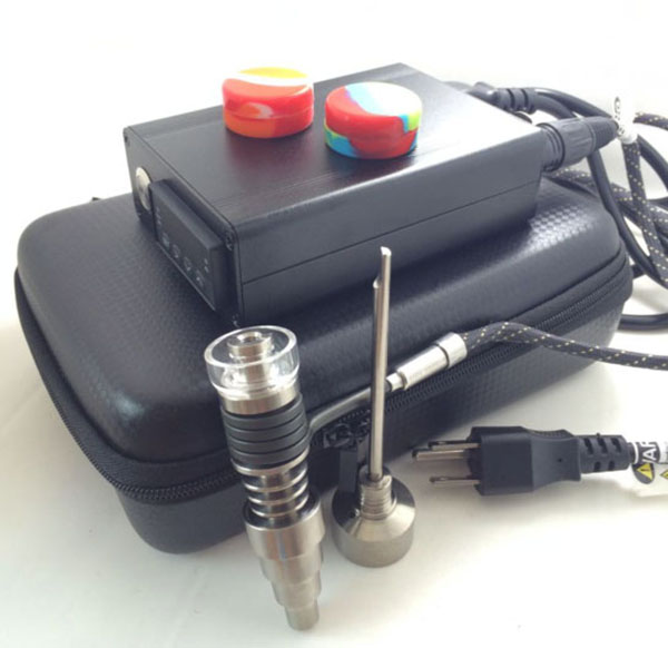 DHL Free Dnail Enail Kit Titanium / Quartz nail carb cap hybrid e - Bienes para el hogar - foto 1