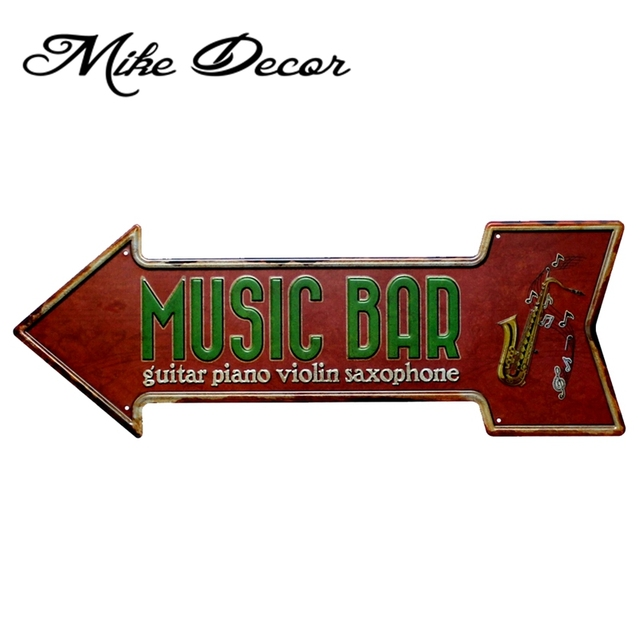 mike86 music bar saxophone guitar piano violin arrow irregular