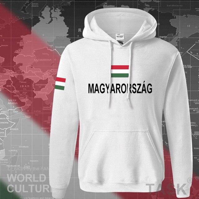 Hungary Hungarian hoodies men sweatshirt sweat new hip hop streetwear tracksuit nation footballer sporting country 2017 HUN HU 4
