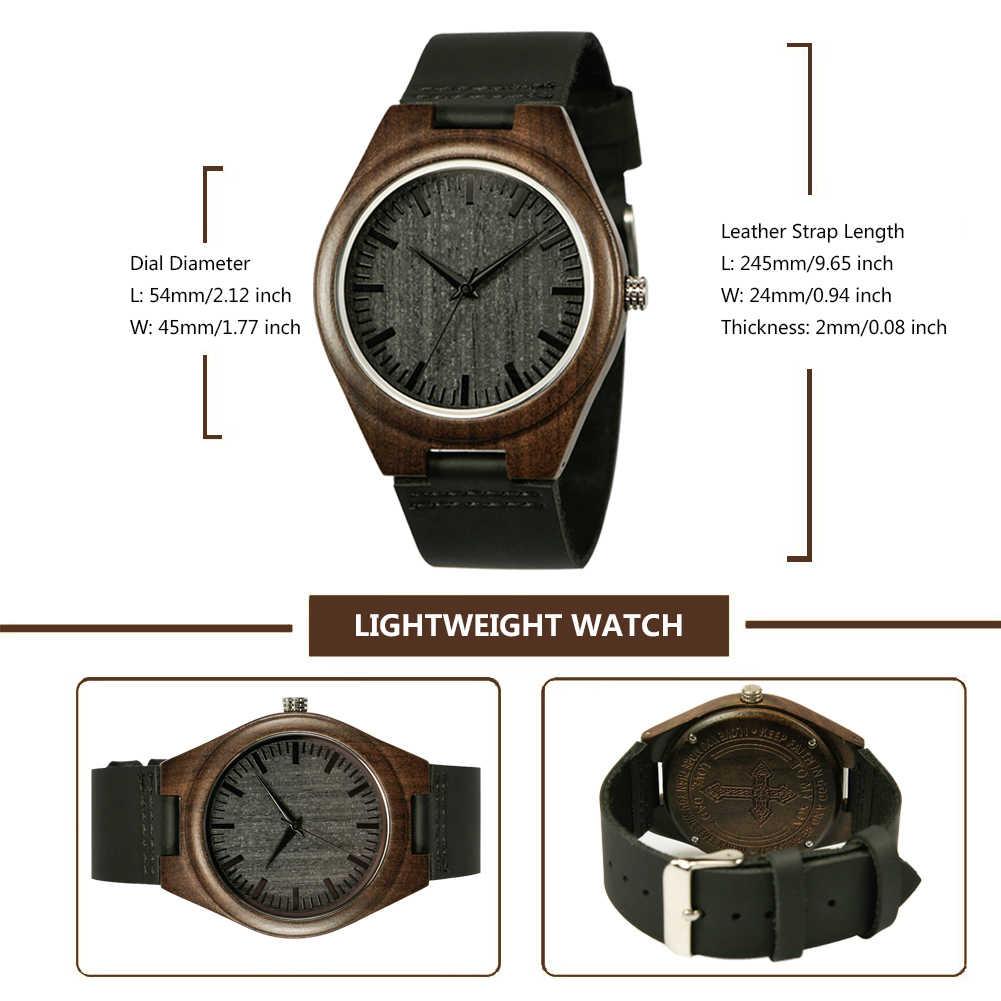 Shifenmei S5520 hombre negro grabado relojes de madera de ébano relojes de pulsera de madera enlaces de cuarzo Causal reloj masculino personalizado femenino