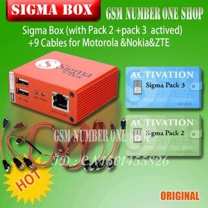 Image 3 - 2020 オリジナル新加入シグマボックスケーブルセット + シグマパック 1 、 2 、 3 アクティベーション mtk ベースのモトローラアルカテル華為 Zte レノボ