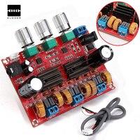 TPA3116D2 50Wx2 100W 2 1 Channel Digital Subwoofer Power Amplifier Board 12 24V Amplifier Boards Modules