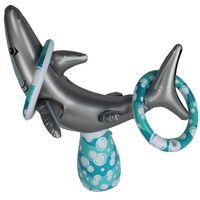 Gefüllt Mit Air Shark Kinderspielzeug Starke Pvc Werfen Ring Kindergarten Baby Spiel Aktivitäten Props