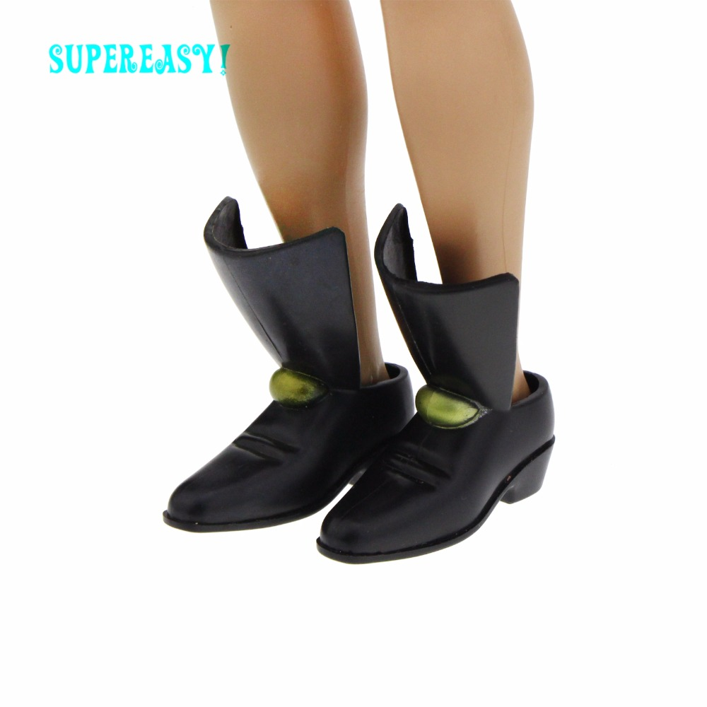 Excellent Quality Shoes Prince Special Pointed Boot Party Wear Cool Male DIY Accessories For Barbie Doll Boyfriend Ken Gifts Toy