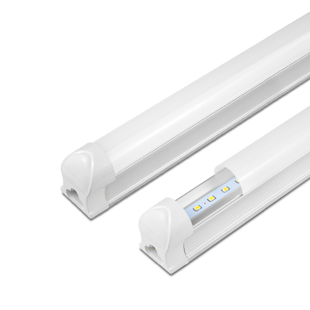 US $0.78 32% OFF|T8 Tube LED Bar light Bulb 8W 12W 220V 300mm 1FT 600mm 2FT  LED T8 Integrated Tube Light Replace Fluorescent Kitchen wall lamp-in LED  ...