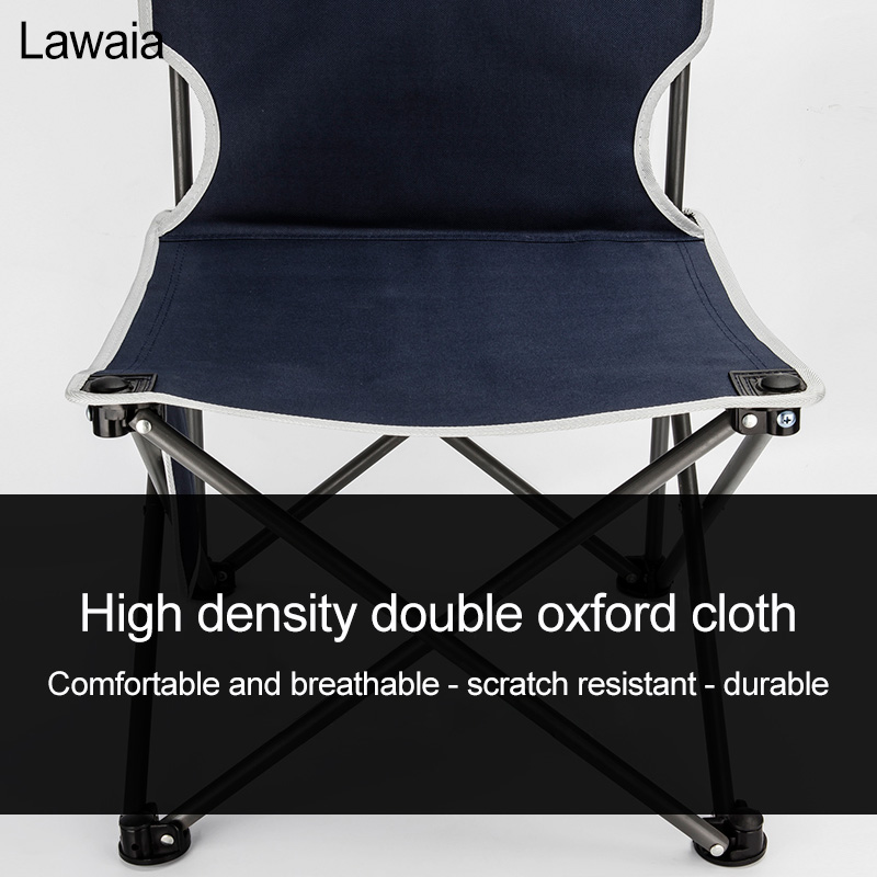 Lawaia Outdoor Folding Chair Portable Mazar Stool Backrest Fishing Chair Art Sketch Camping Beach Train Bench Travel Chairs Tool in Fishing Chairs from Sports Entertainment