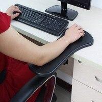 Mobilya'ten Mobilya Aksesuarları'de El Omuz Koruyun Kolçak Pad Danışma Takılabilir bilgisayar masası Kol Desteği fare altlığı Kol Bilek Dayanağı Sandalye Genişletici için Masa