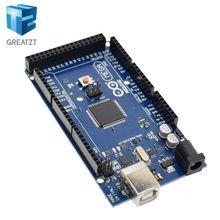 GREATZT  Mega 2560 R3 with logo mega2560 REV3 ATmega2560-16AU Board (not USB Cable )compatible Mega 2560 r3