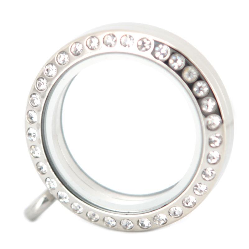 Բարձրորակ 25 մմ կլոր մագնիս բյուրեղյա - Նորաձև զարդեր - Լուսանկար 3
