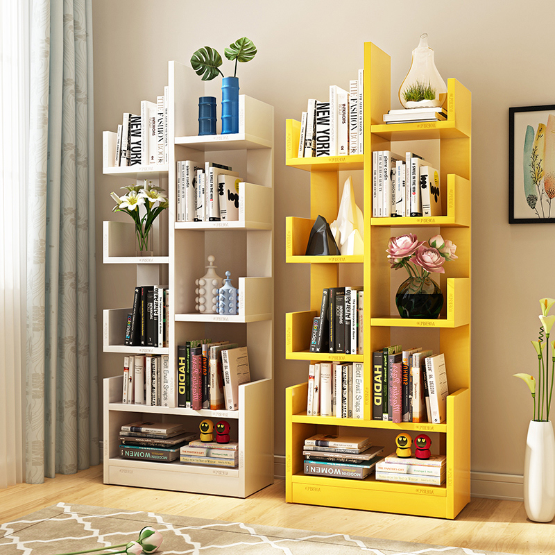 Bookshelf 9 Bookshelves Office Storage Shelf Living Room Cabinet