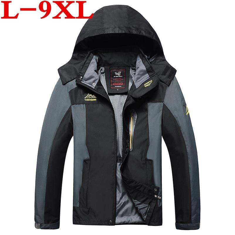 Analitico Più Il Formato 9xl 8xl 6xl 5xl 4xl Uomo Pizex Impermeabile Antivento Mountain Caldo Cappotto Giacca Uomini Giacca Pizex Di Grandi Dimensioni Size Abbigliamento Sportivo Domanda Che Supera L'Offerta