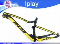 2019 New design IPLAY 29 full suspension frame carbon fiber 650B mtb frame 27.5er mountain bike frame UD matt 148*12mm thru axle
