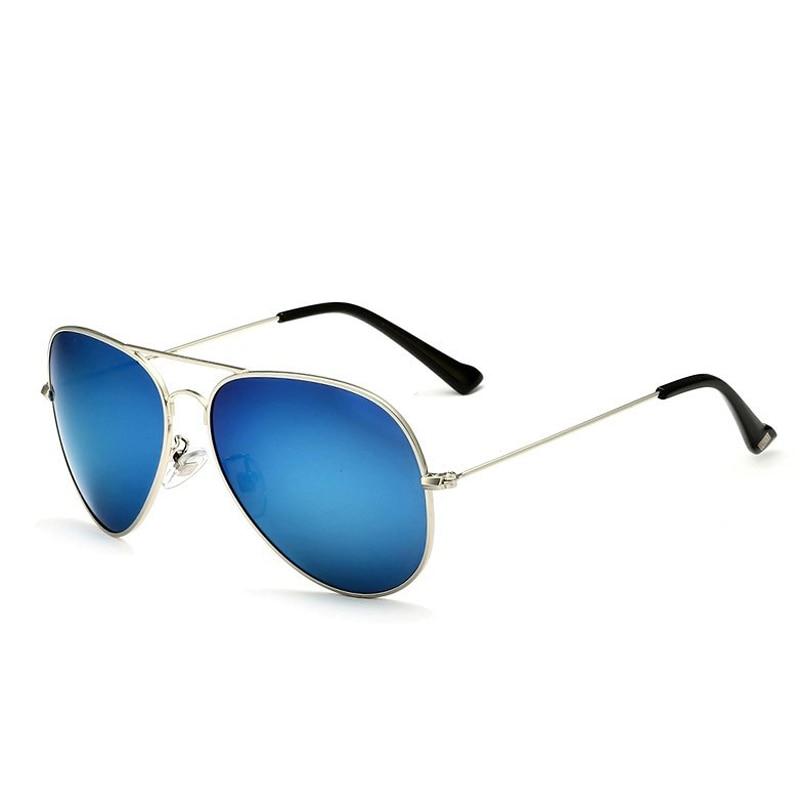 Солнцезащитные очки унисекс VEITHDIA, брендовые классические дизайнерские очки с зеркальными поляризационными стеклами, степень защиты UV400, для мужчин и женщин - Цвет линз: silverlightblue