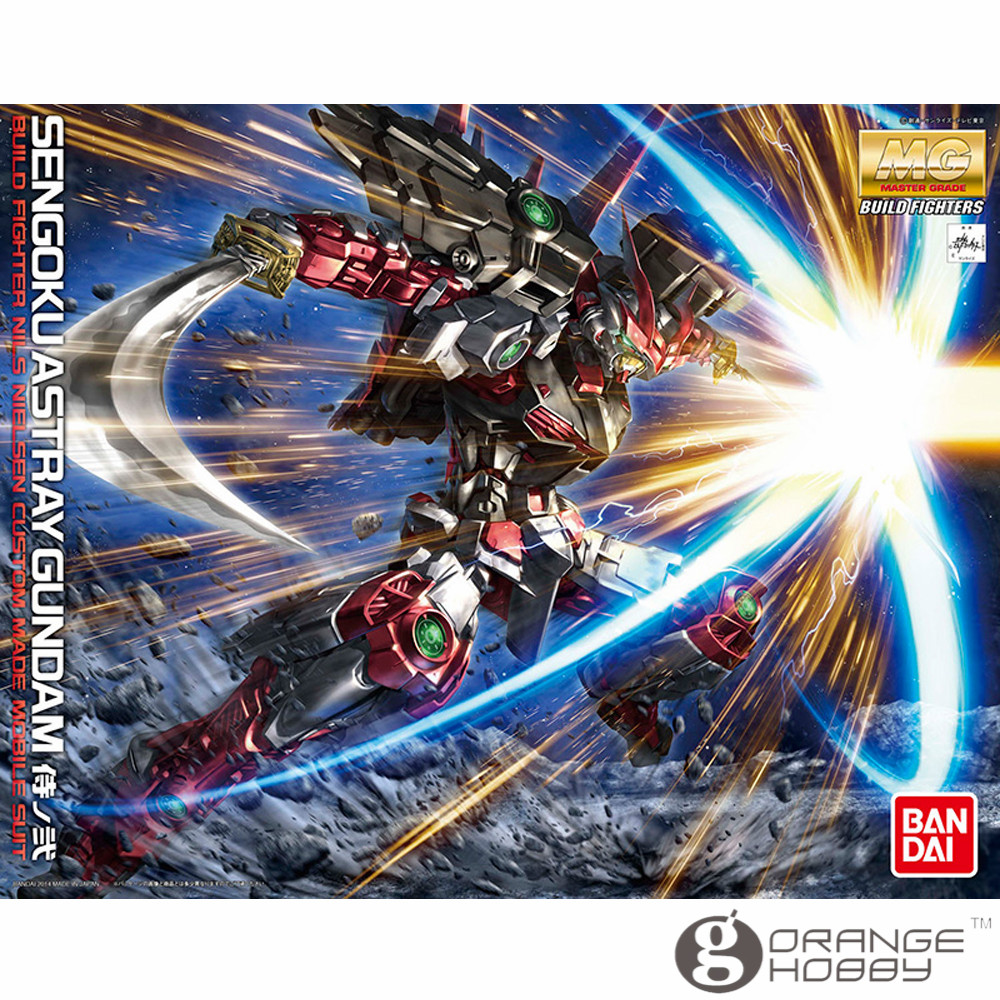 OHS Bandai MG 179 1/100 Sengoku Astray Gundam Mobile Suit Assembly Model Kits oh ohs bandai sw 1 6 yoda assembly model kits