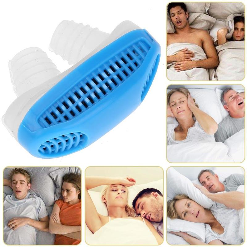 1pc Portable Snoring Stopping Nose Breathing Apparatus Mini Sleeping Guard 4pcs Transparent Anti Snoring Device For Snorers