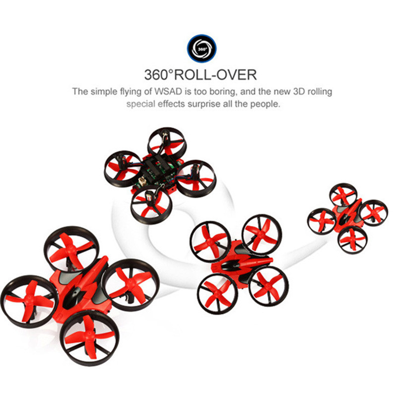 Mini Drone RC Quadcopter NH010 2.4G 6-Axis 4 Channels 30M Headless Mode One Key Return RC Helicopters Dron Toys Pocket Drones (23)