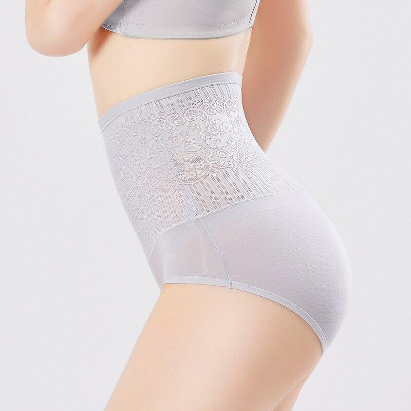 Women Slimming Underwear Tummy Control Underwear Panties High Waist Bamboo Fiber Sexy Women Slimming Pants for Ladies M L XL XXL in Control Panties from Underwear Sleepwears