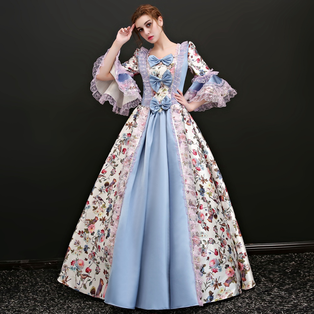 53 Best Images About Medieval Dress On Pinterest: Free Ship Long Flare Sleeve Pastoral Style Venice Carnival