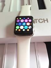 Smart watch iwo 2 iwo mtk2502cบลูทูธไร้สายชาร์จคริสตัลแซฟไฟร์werableอุปกรณ์นาฬิกาข้อมือrelógio c elular gv18