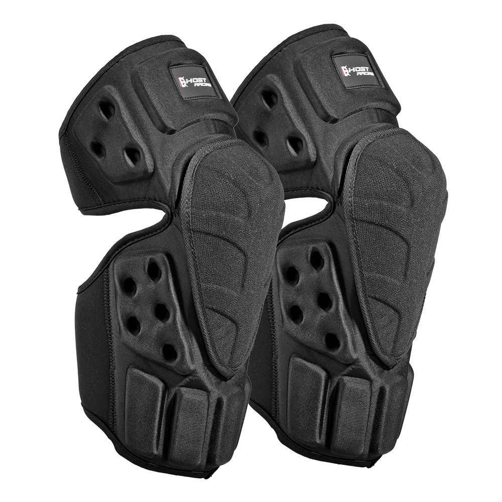Ghost Racing thermal knee Armor Knee Braces for motorcycle racing bicycle riding outdoor sport Motorcycle Protective kneepad ...