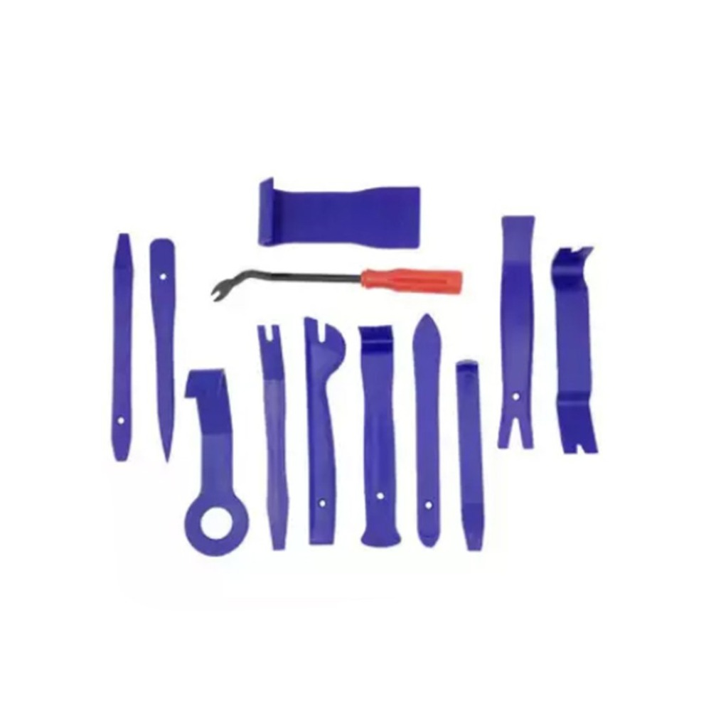 Car Interior Modification Disassembly Tool 12-piece Set Audio Navigation Removal Tool 6-inch Plastic Buckle Screwdriver Repair