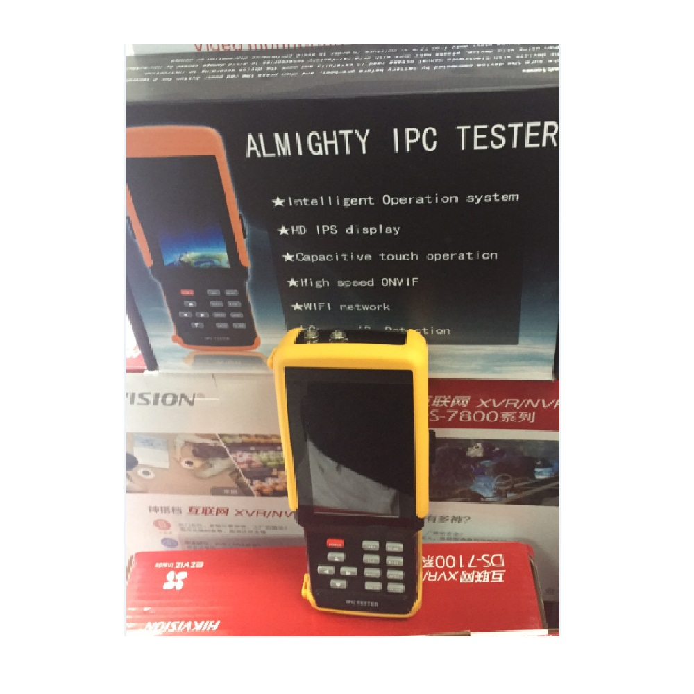 IPC 9300S wifi 4.3'' 5 in one Touchscreen CCTV Tester for IPC/Analog Camera,IPC 1080P, AHD,CVI,TVI,BNC Network Cable Tester