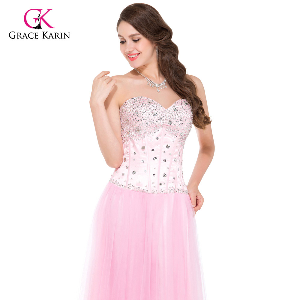 Corset style evening dresses