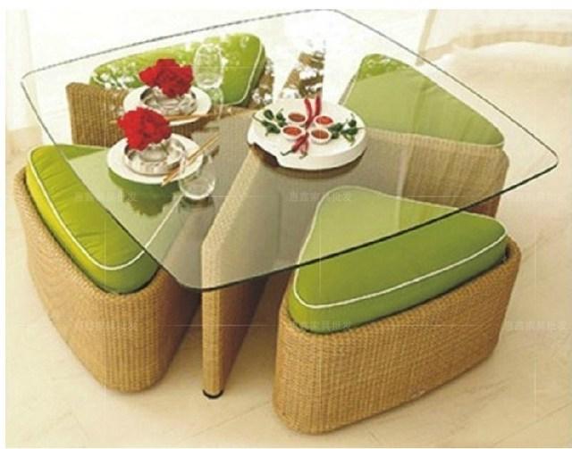 Moda redondo sofá de mimbre rattan sofa sofá sofá terraza exterior ...