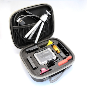 Image 5 - LBKAFA EVA נייד תיק נסיעות אחסון מגן תיק מקרה עבור GoPro גיבור 9 8 7 6 5 4 SJCAM SJ4000 SJ6 יי מצלמה אבזרים