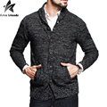 2016 New Men Cardigans Sweater Solid Men Sweater Casual Button Design Jumpers Cardiga Blusa Masculina Men Knitted Sweater J100