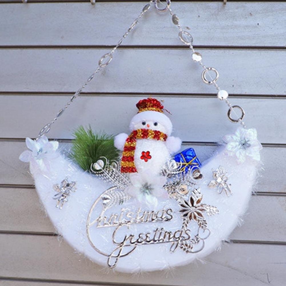 luna diseo de escena y decorativo rbol de navidad del mueco de nieve de navidad