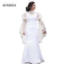 Sunzeus Illusion Wedding Dresses 2019 Bride Dresses Sleeve